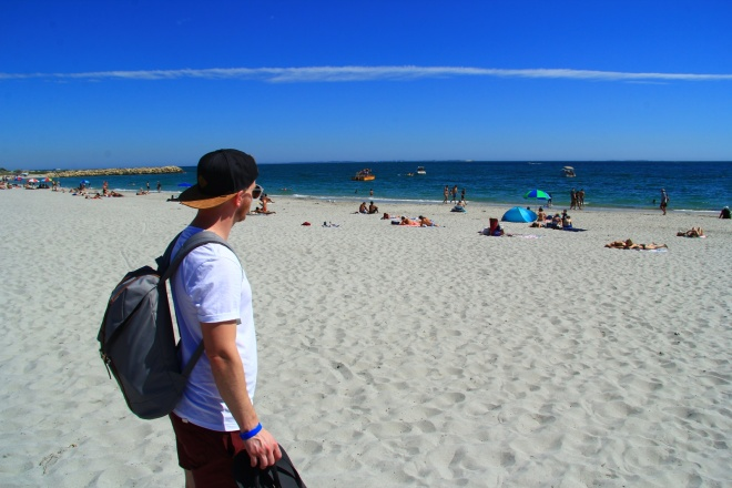 Fremantle - beach