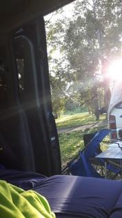 Camping - Good morning