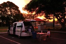 Camping - Sunset