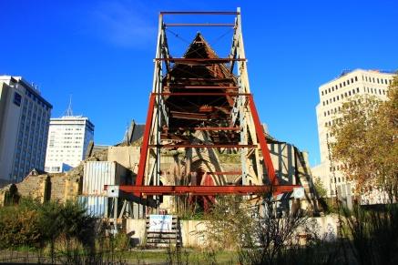 Christchurch - Erdbeben-Reste 2
