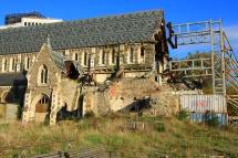 Christchurch - Erdbeben-Reste