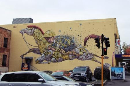 Dunedin - Streetart