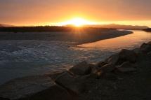 Franz Josef - Sunset