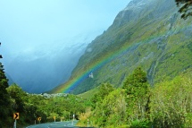 Milford Sound Rainbow