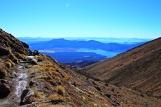 Tongariro - Abstieg