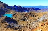 Tongariro - blue pools 3