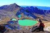 Tongariro - blue pools