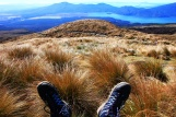 Tongariro - Füße hoch
