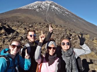 Tongariro - Gruppenbild