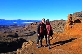 Tongariro - Wir