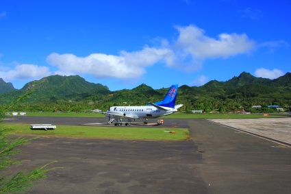 Air Rarotonga - Abflug