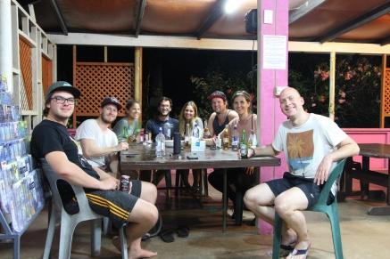 Rarotonga - Hostel-Party1