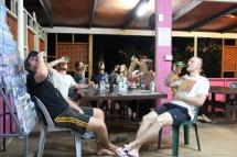 Rarotonga - Hostel-Party4