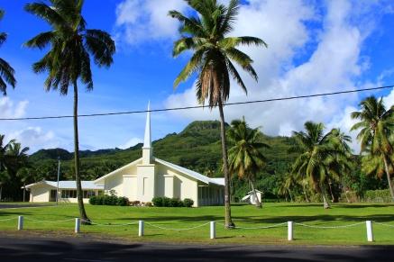 Rarotonga - Kirche